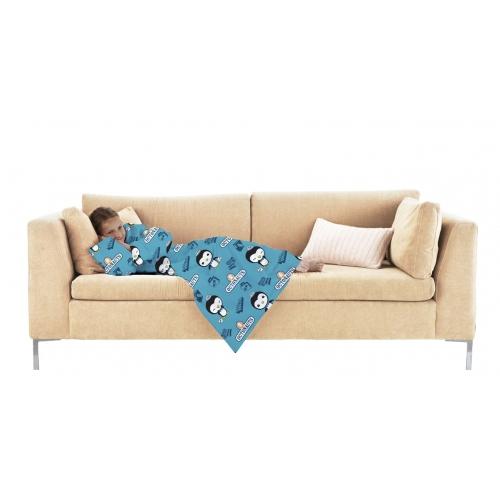 Octonauts Peso Cosy Wrap Blanket Sleeved Fleece