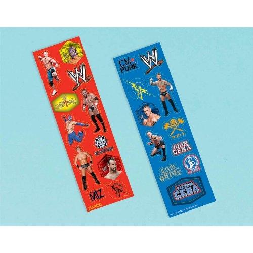 WWE 8 Pk Sticker Set Decoration
