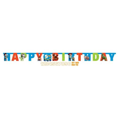 Disney Toy Story Custom Happy Birthday Letter Banner Party