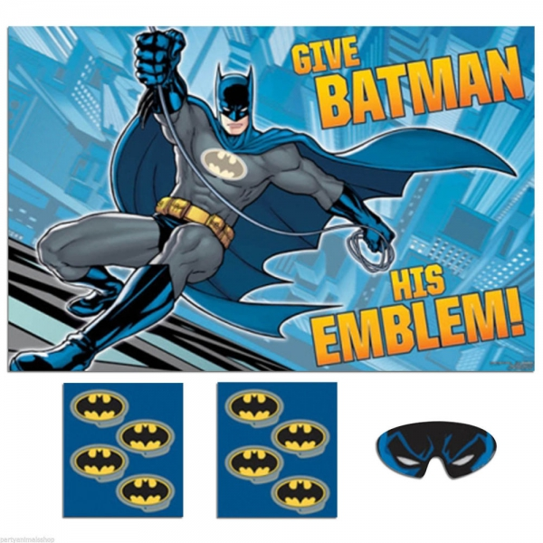 Batman Party Game Accessories
