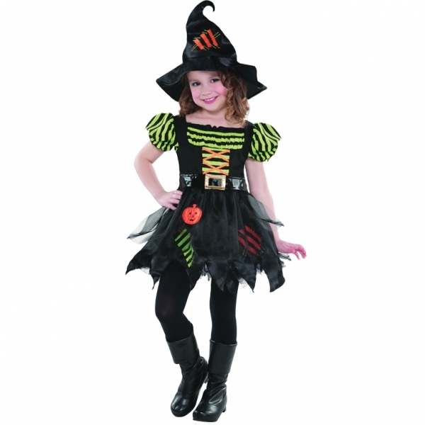 Pumpkin Patch Witch 8-10 Years Costume