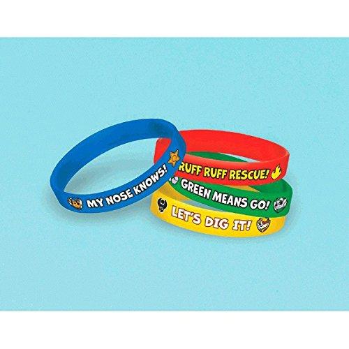 Nickelodeon 'Paw Patrol' 4 Pack Bracelet Party Accessories