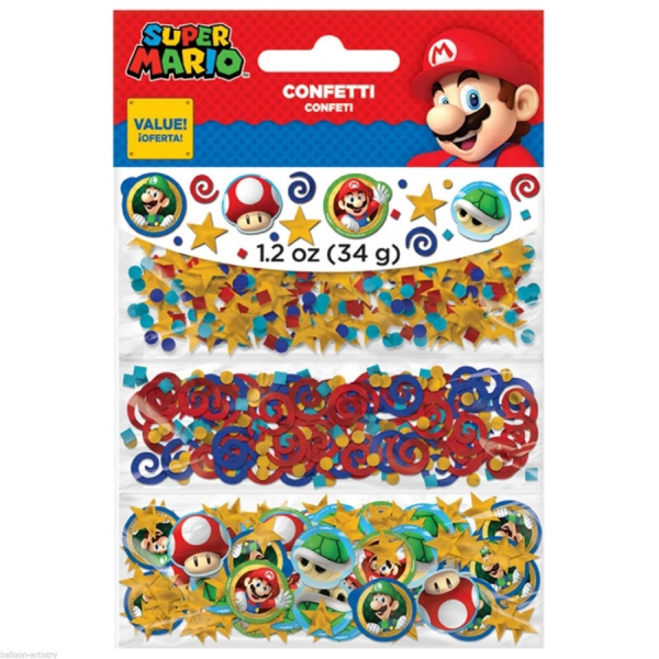 Super Mario 34 G Confetti Party Accessories