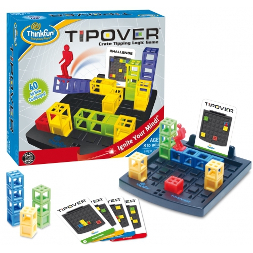 Tipover Crate Game Board Puzzle