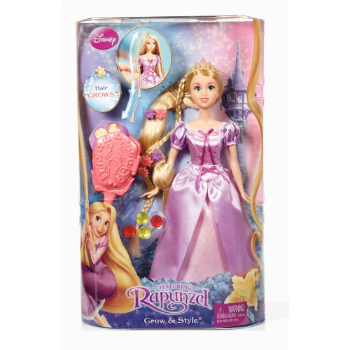 Disney Tangled Rapunzel 'Grow and Style' Doll Toy