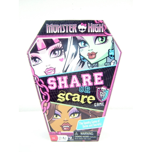Monster High 'Truth Or Scare' Game Board Puzzle