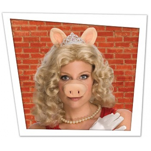 Disney Muppets Miss Piggy Accessories Wig Costume