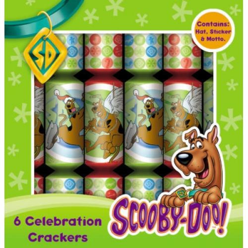 Scooby Doo 6 Celebration Crackers Christmas