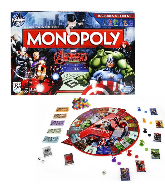 Marvel Avengers 'Monopoly' Board Game