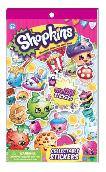 Shopkins Stickers Stationery