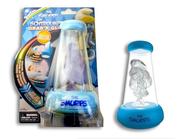 Smurf 'Grab N Glow' Changing Night Light
