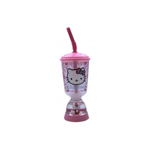 Hello Kitty 'Folksy' Glitter Dome Bubble Tumbler