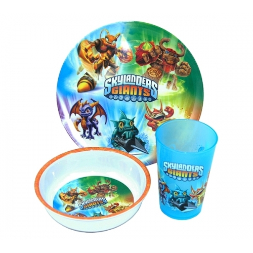 Skylanders Giants Dinner Set