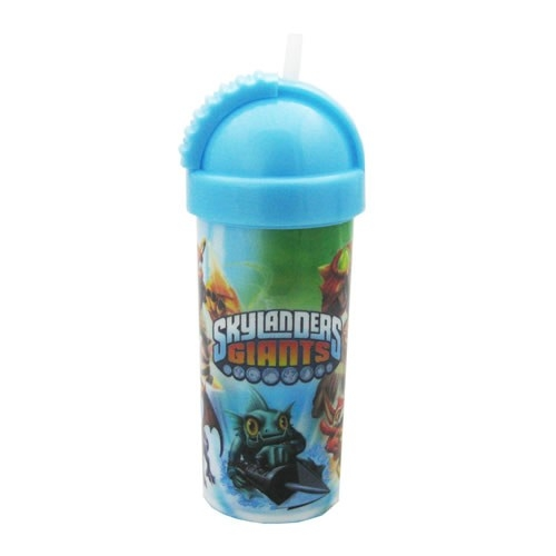 Skylanders Giants Flip Top Flask Bottle