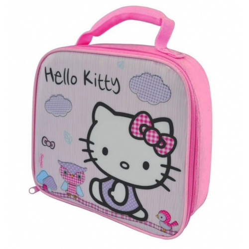 Hello Kitty 'Woodland Animal' School Premium Lunch Bag Insulated