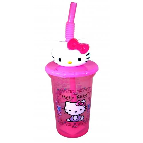 Hello Kitty 'Woodland Animal' Buddy Twisty Straw Tumbler