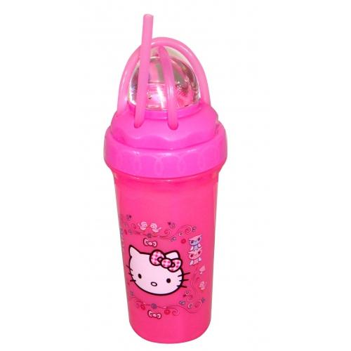 Hello Kitty 'Woodland Animal' Loopity Loop Twisty Straw Tumbler