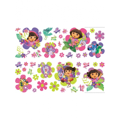 Dora The Explorer 40 Stickers Wall Sticker Decoration