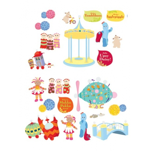 In The Night Garden 21 Wall Stickers Sticker Stikaround