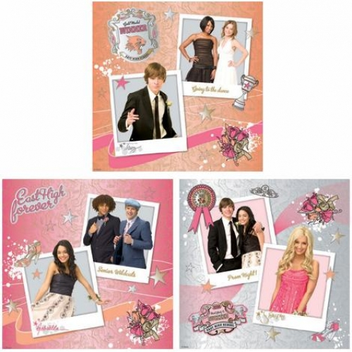 Disney High School Musical 3 Art Square Wall Decoration