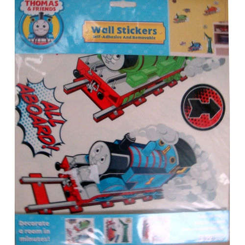 ... Thomas U0026 Friends Self Adhesive And Removable Wall Sticker Decoration Part 83