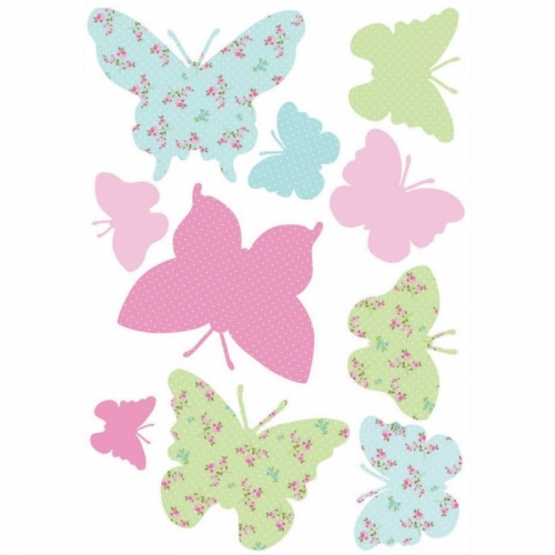 Butterflies 10 Wall Stickers Maxi Sticker Decoration