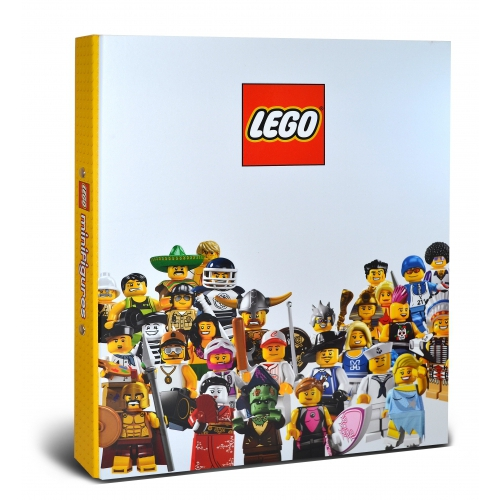 Lego White A4 Ringbinder Folder Stationery