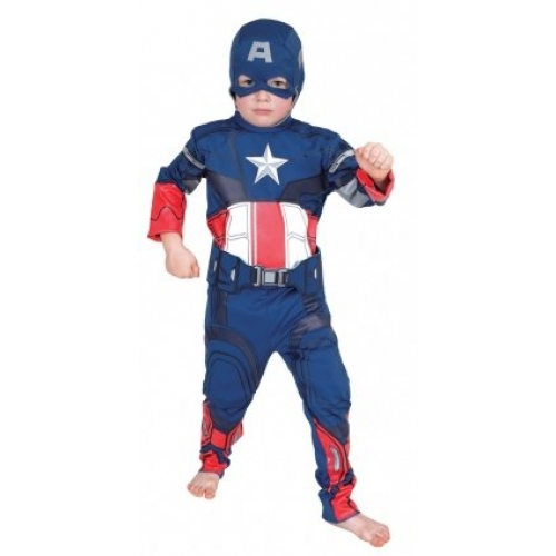 Avengers Captain America 3 To 5 Years Costume