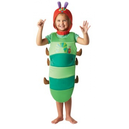 Very Hungry Caterpillar Small 3 4 Years Costume
