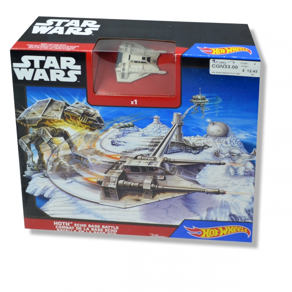 Hot Wheels Star Wars 'Hoth Echo Base Battle' Play Set Toy