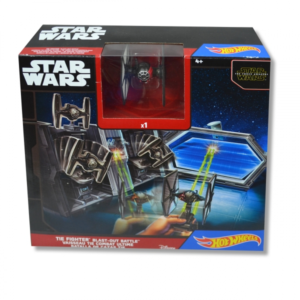 Hot Wheels Star Wars 'Tie Fighter Blast-out Battle' Play Set Toy