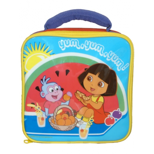 Dora The Explorer 'Yum' School Rectangle Lunch Bag