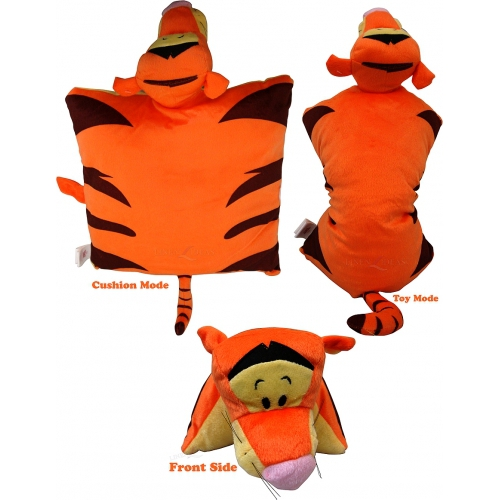 Disney Wtp Tigger 2in1 Cushion Shaped