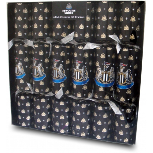 Newcastle United Fc Football Luxury Crackers Official Christmas