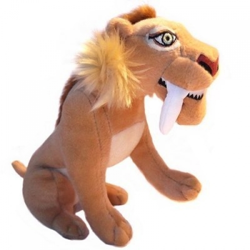 Ice Age 4 'Saber Toothed' 11 inch Plush Soft Toy
