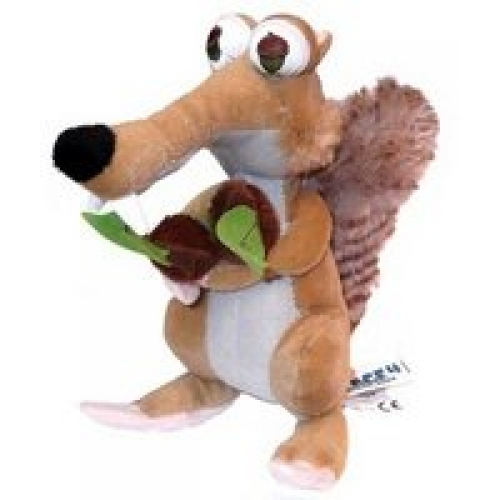 Ice Age 4 'Scrat The Squirrel with Peanuts Eyes' 11 inch Plush Soft Toy