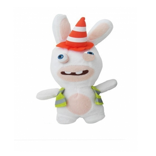 Raving Rabbids 'Construction Worker' 7 inch Plush Soft Toy