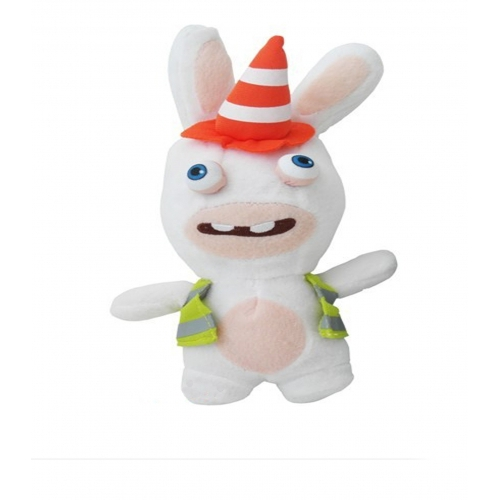 Raving Rabbids 'Construction Worker' 10 inch Plush Soft Toy