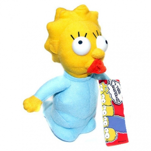 Bart Simpsons 'Maggie Simpson' 8 inch Plush Soft Toy