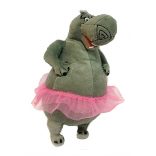 Madagascar 3 'Gloria Hippopotamus' 13 inch Plush Soft Toy