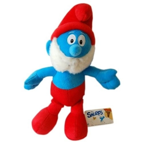 The Smurfs Grote Red 16 inch Plush Soft Toy