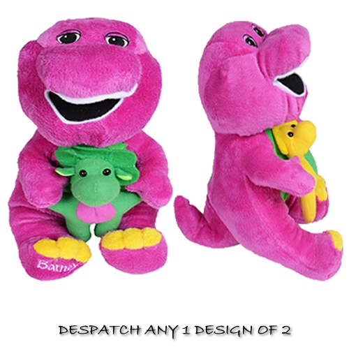 Barney & Friends 'with Baby Green,yellow' Assorted Plush Soft Toy