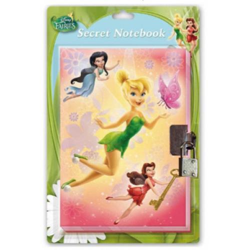 Disney Fairies Secret Notebook Stationery