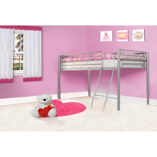 Todd Linens Single Bed Silver Frame