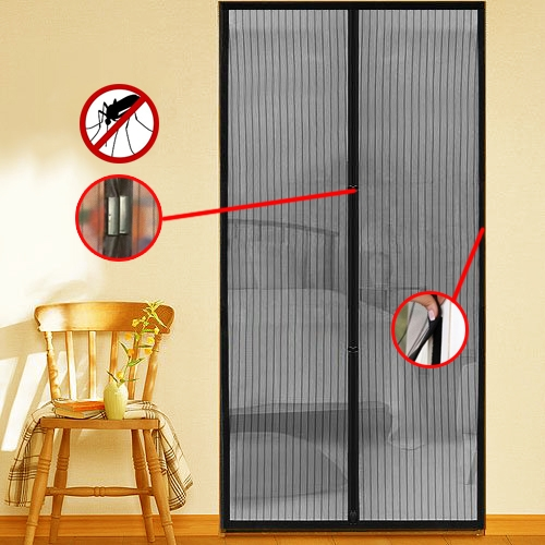 Insect Magnetic Door Mesh Screen