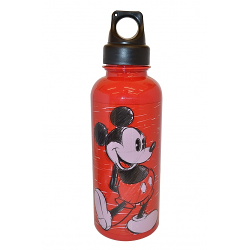 Disney Mickey Mouse Red Canteen 500 Ml Bottle