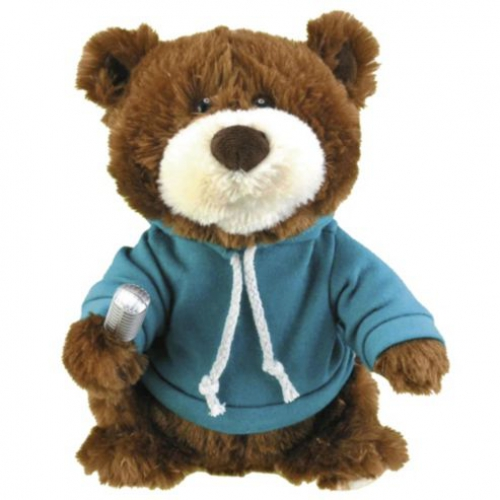 One Direction Singing Bear' 9 inch Turquoise Toy