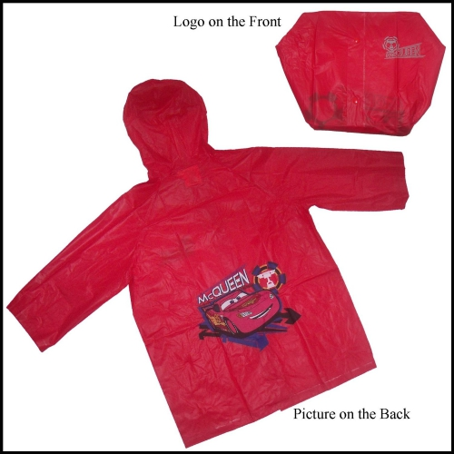 Disney Cars '6 Years' Raincoat
