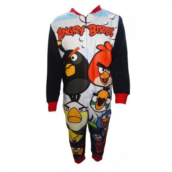 Angry Birds Fleece 4-6 Years Jumpsuit