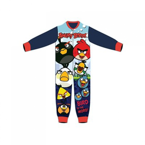 Angry Birds Fleece 6-7 Years Jumpsuit